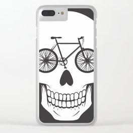 Bikehead Clear iPhone Case