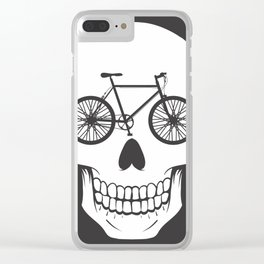 Bikehead Clear iPhone Case