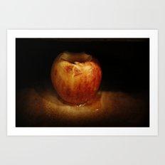baked apple Art Print