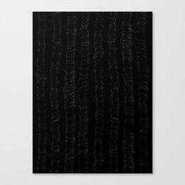 Black Stuff 5 Canvas Print