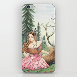 The Queen of the forest iPhone Skin