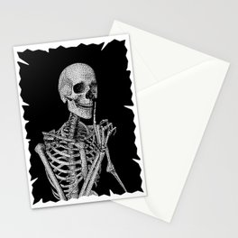 Silence please Stationery Cards