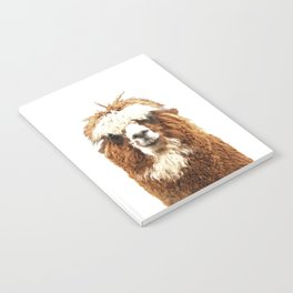 Alpaca Portrait Notebook