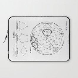 Buckminster Fuller 1961 Geodesic Structures Patent Laptop Sleeve