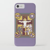 evangelion iPhone & iPod Cases featuring Illuminated Evangelion by C. A. Neal