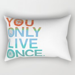 YOLO! Rectangular Pillow
