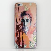 james franco iPhone & iPod Skins featuring James Franco by Katarzyna Typek