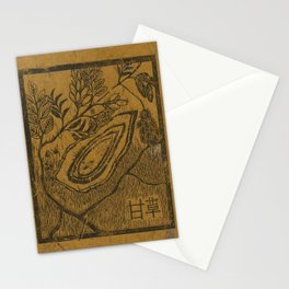 Gui Zhi- Cinnamon Color Stationery Cards