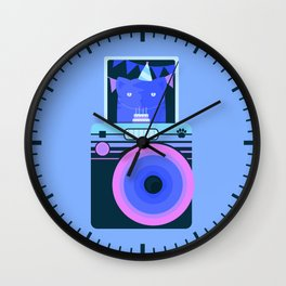 Real tired of your sh*t, hooman Wall Clock