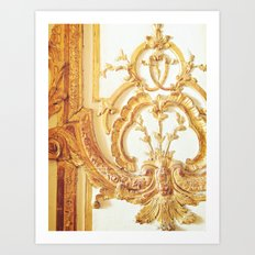 Gold Trimmings Art Print