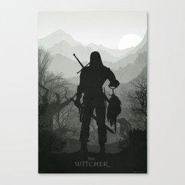 The Wtcher Canvas Print