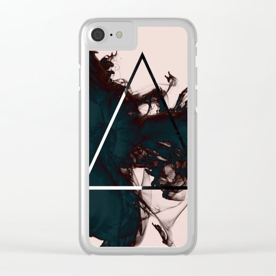 Pastel Smoke Clear iPhone Case