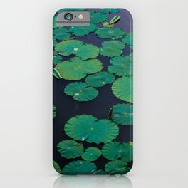 Temple Lilypond iPhone Case