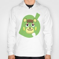 animal crossing Hoodies featuring Animal Crossing Charlise by ZiggyPasta