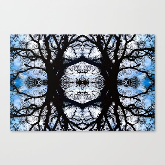 Treeflection III Canvas Print
