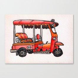 Bangkok : Tuk Tuk Canvas Print