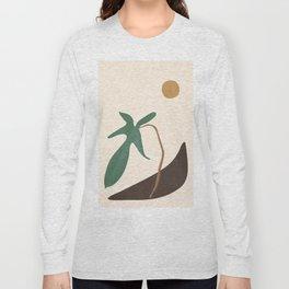 Minimal New Leaf Long Sleeve T-shirt