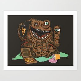 Terror Vision Art Print