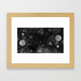 OUTER_____ Framed Art Print