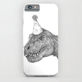 Party Dinosaur iPhone Case