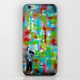 Einstein iPhone Skin