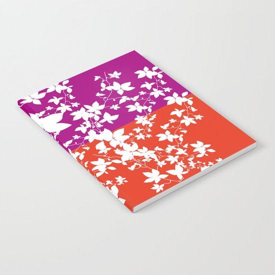 Climbing Flowers Notebook