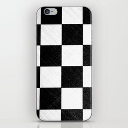 Dirty checkers iPhone Skin