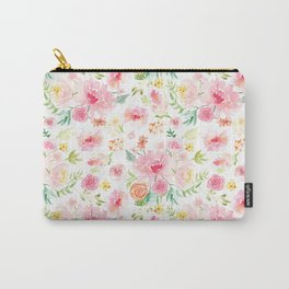 All the Peonies Carry-All Pouch