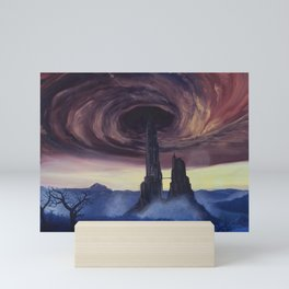 The Vortex - A Borderlands 2 Inspired Oil Painting Mini Art Print