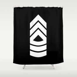 Master Sergeant Shower Curtain