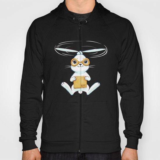 Postal Bunny Hoody