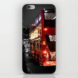London Bus iPhone Skin