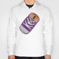 vans Hoodies featuring Cute Purple Vans all star baby shoes apple iPhone 4 4s 5 5s 5c, ipod, ipad, pillow case and tshirt by Three Second