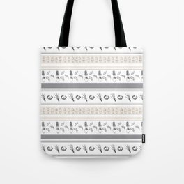 Lineal Bunnies Tote Bag