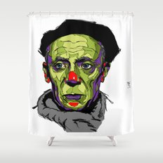 P. Picasso Shower Curtain