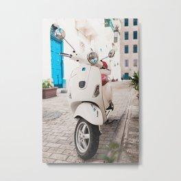 Valletta Streets Metal Print