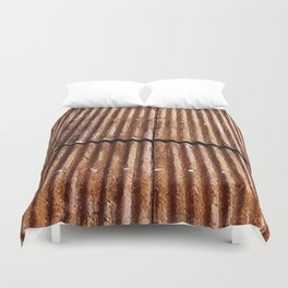 Rusty Roof Duvet Cover