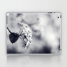 Blossoms in Black and White Laptop & iPad Skin