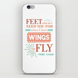 I Have Wings iPhone Skin