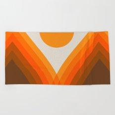Golden Valley Beach Towel