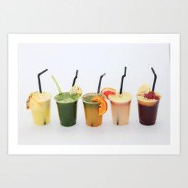 Juicy life Art Print