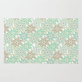 Seamless floral pattern Rug