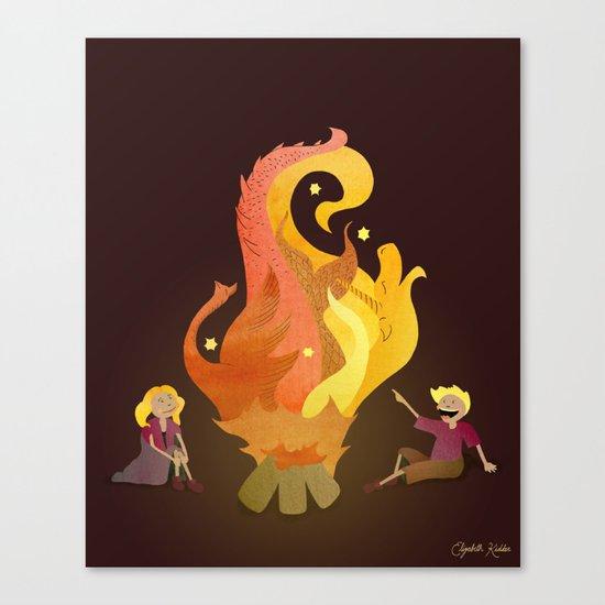 Campfire Magic Canvas Print