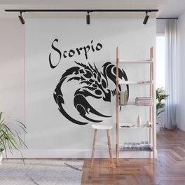 Scorpio Zodiac the Scorpion Wall Mural