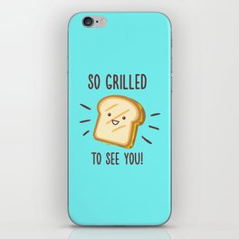 Cheesy Greetings! iPhone Skin