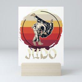 Judo Master Mini Art Print