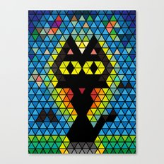 Mosaic Whim Canvas Print