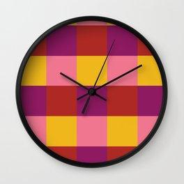 9IIRL NEW WAVE PATTERN Wall Clock