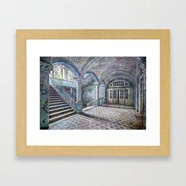 Hallway floor Framed Art Print