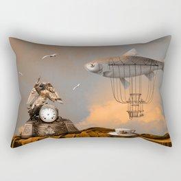 Pleasant afternoon Rectangular Pillow